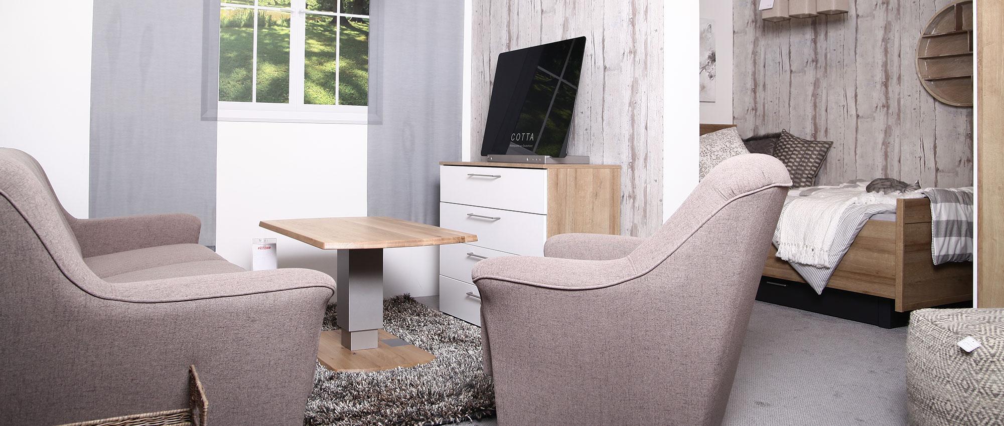 Altersgerechtes Wohnen für Senioren  Möbel Fetzer